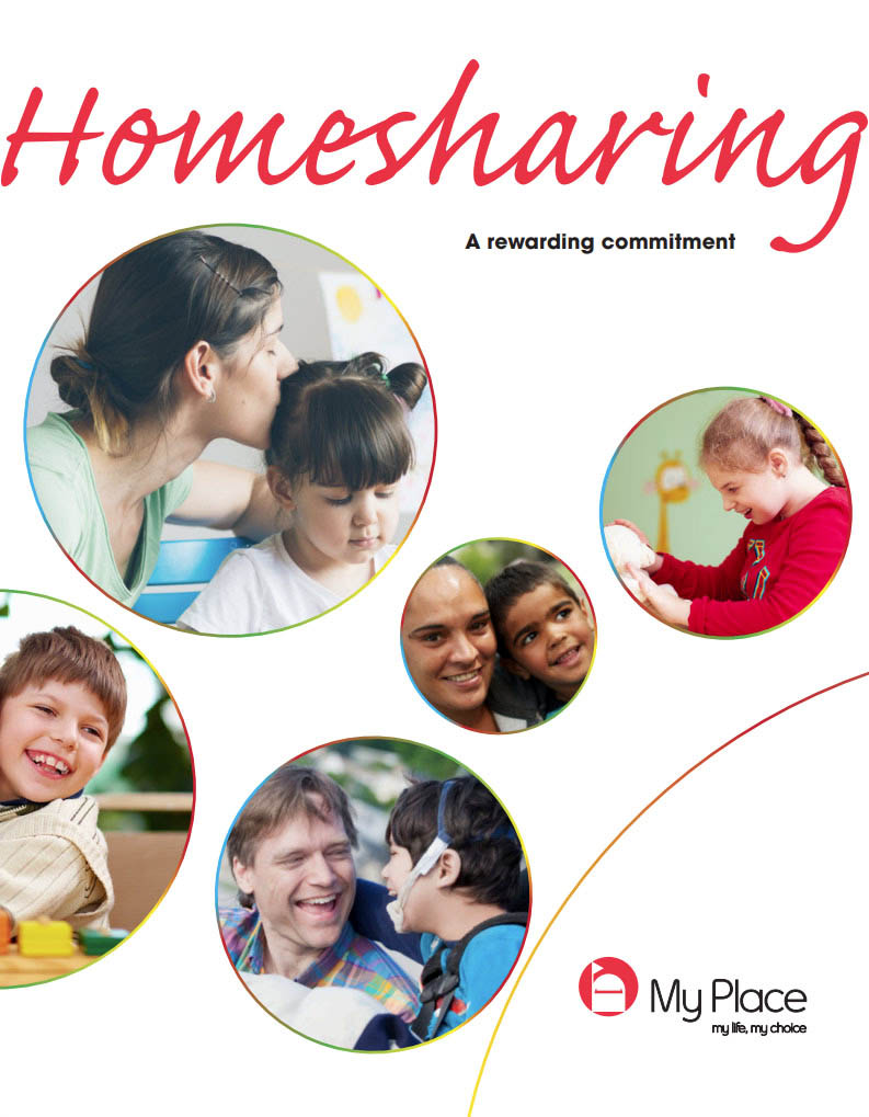 Cover art for: Homesharing – My Place