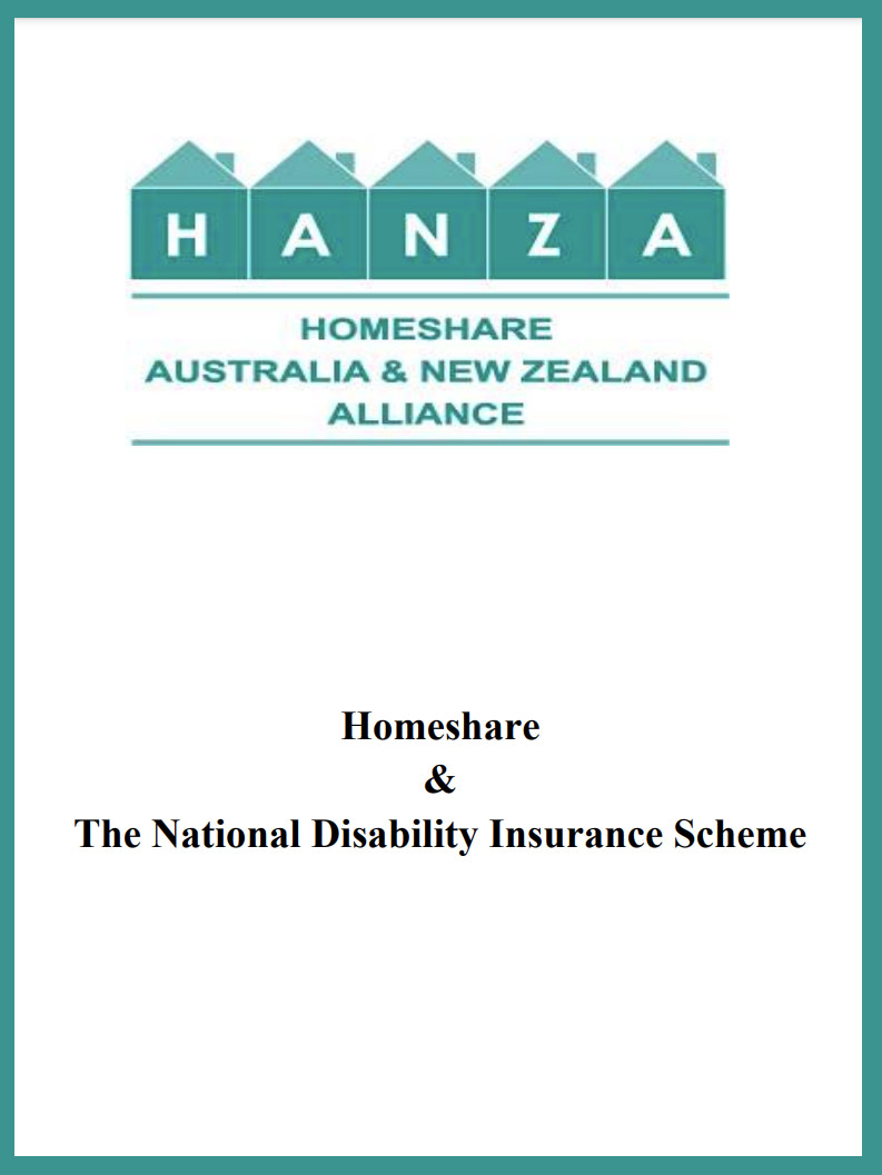 Cover art for: Homeshare And NDIS