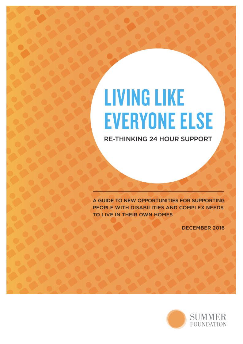 Cover art for: Living like everyone else
