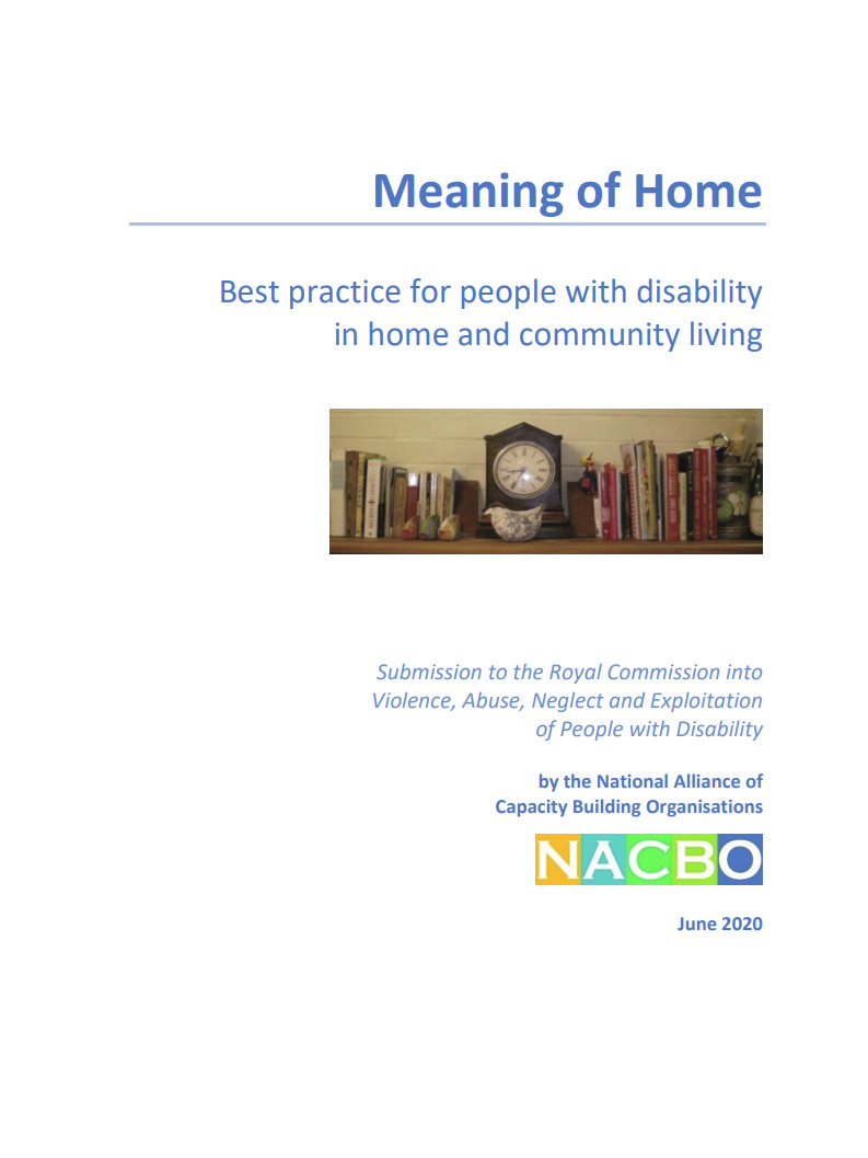 Cover art for: NACBO: Meaning Of Home Submission
