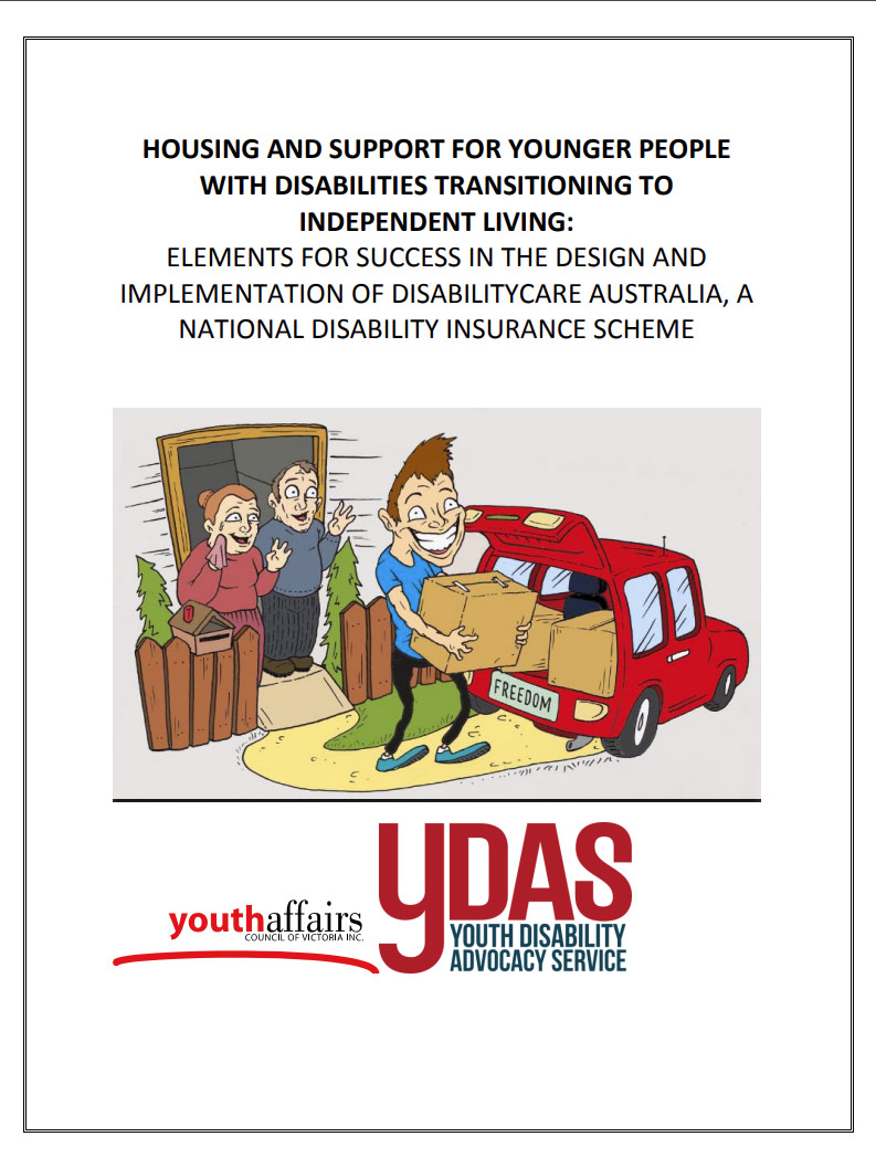Cover art for: YDAS PDF Project Housing and Support for Younger People