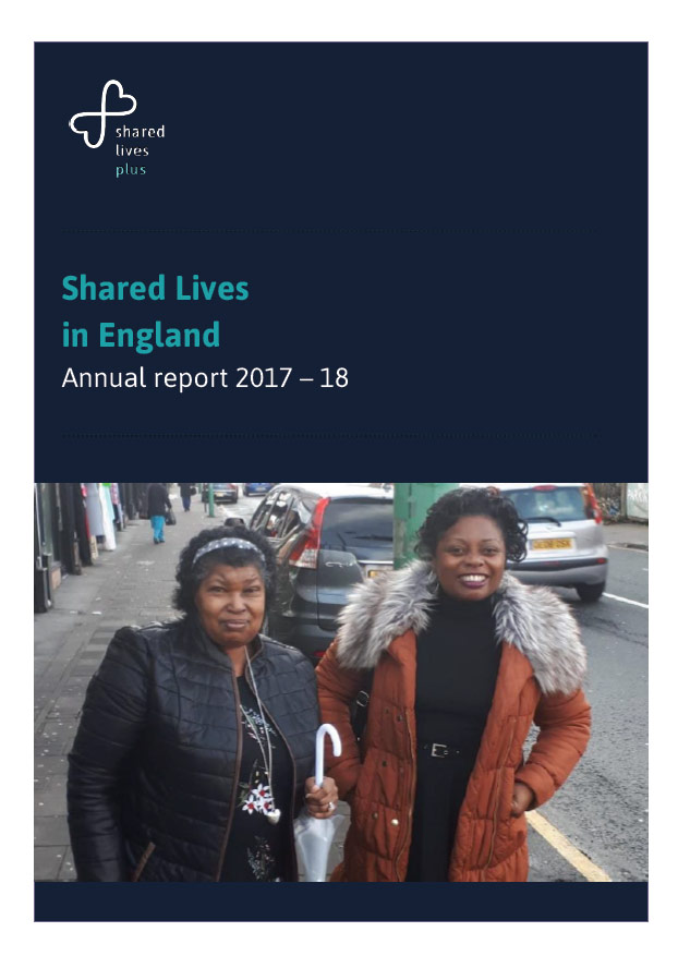 Cover art for: Shared Lives in England 2017-18