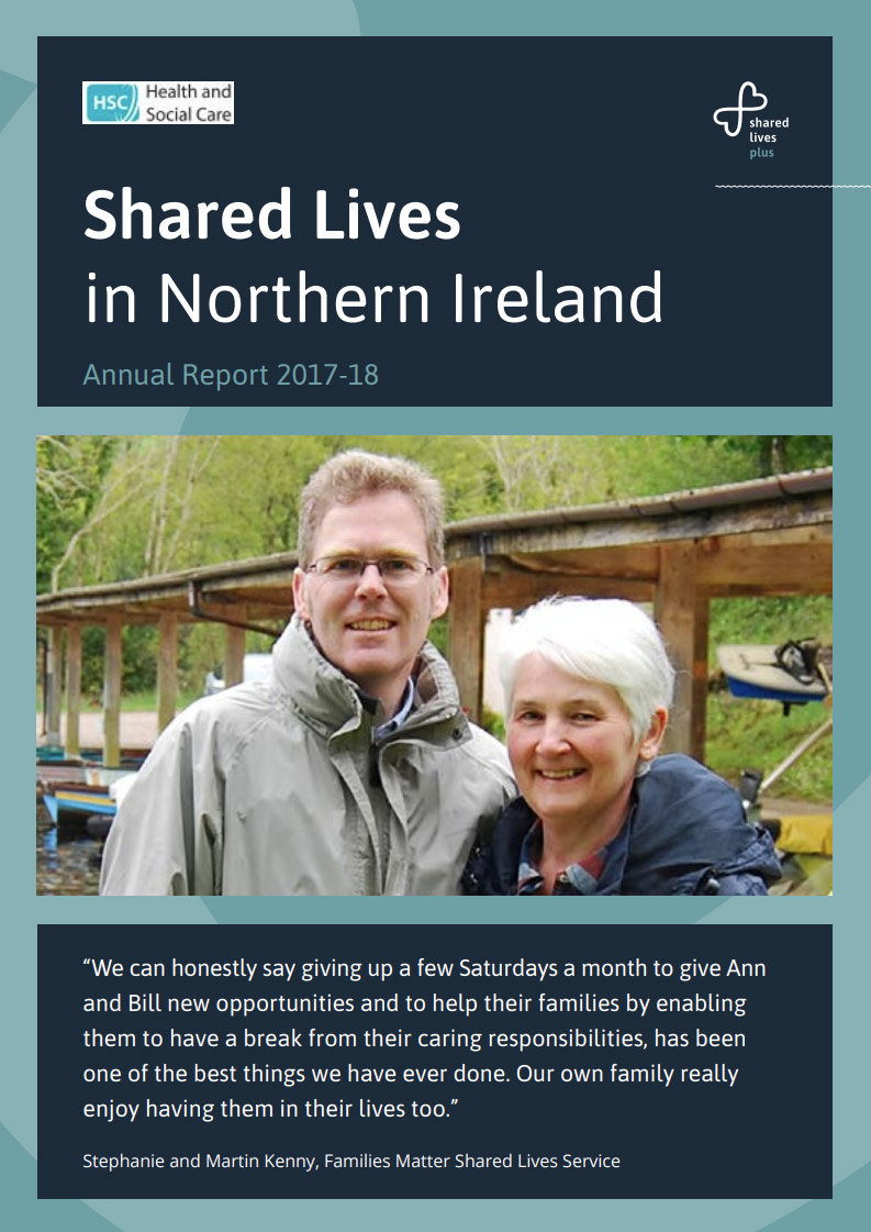 Cover art for: Shared Lives in Northern Ireland Annual Report