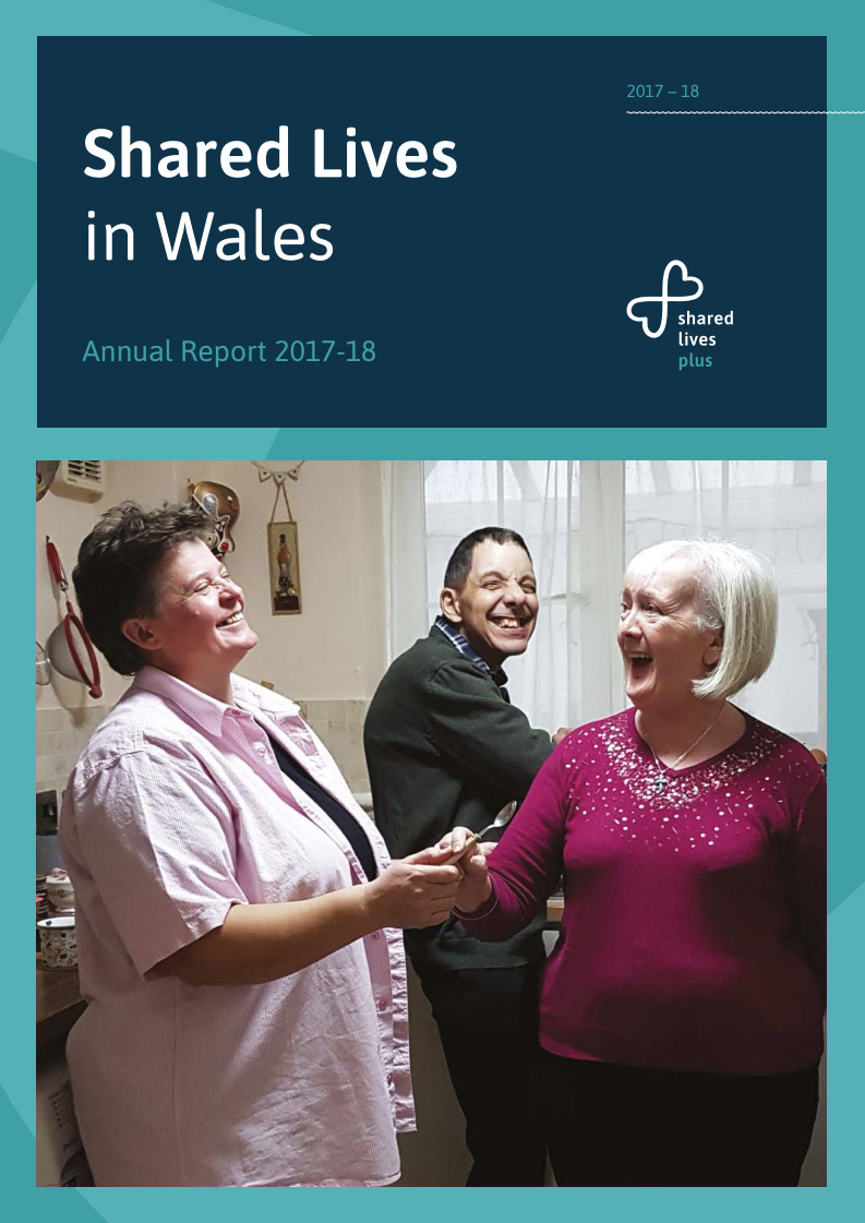 Cover art for: Shared Lives in Wales 2017-18