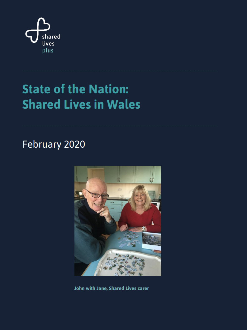 Cover art for: State Of The Nation Shared Lives In Wales February 2020