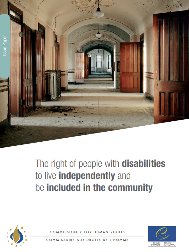 Cover art for: The Right Of People With Disabilities To Live Independently And Be Included In The Community
