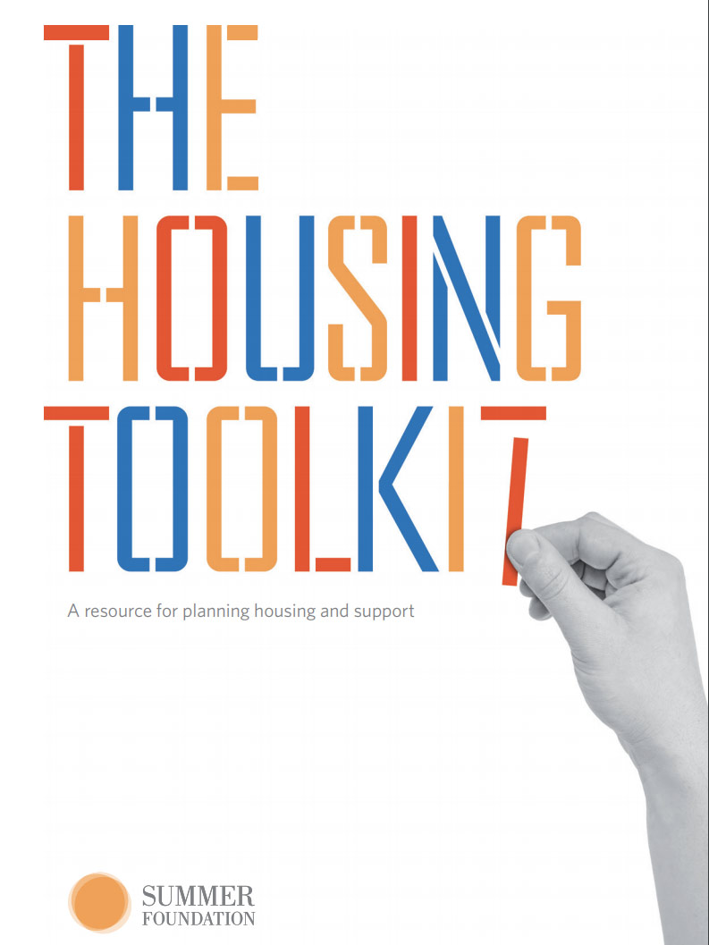 Cover art for: The Housing Toolkit | Summer Foundation