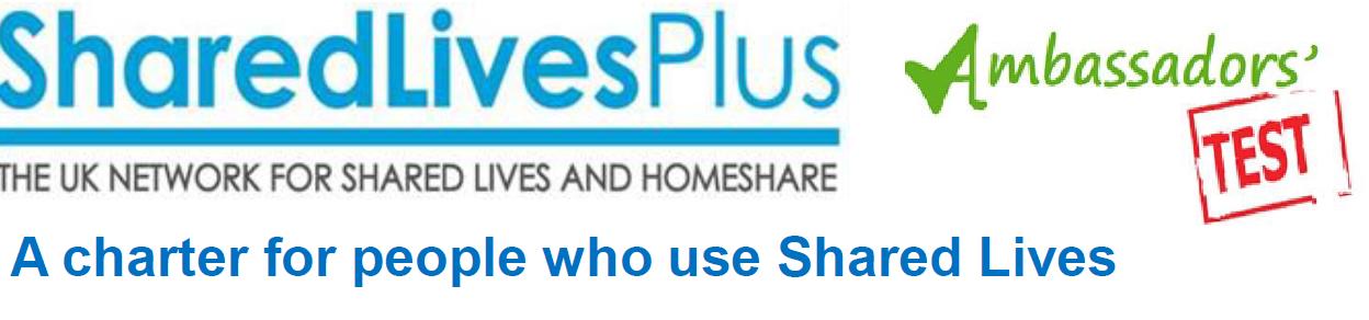 Cover art for: Shared Lives Plus – Ambassador's Test