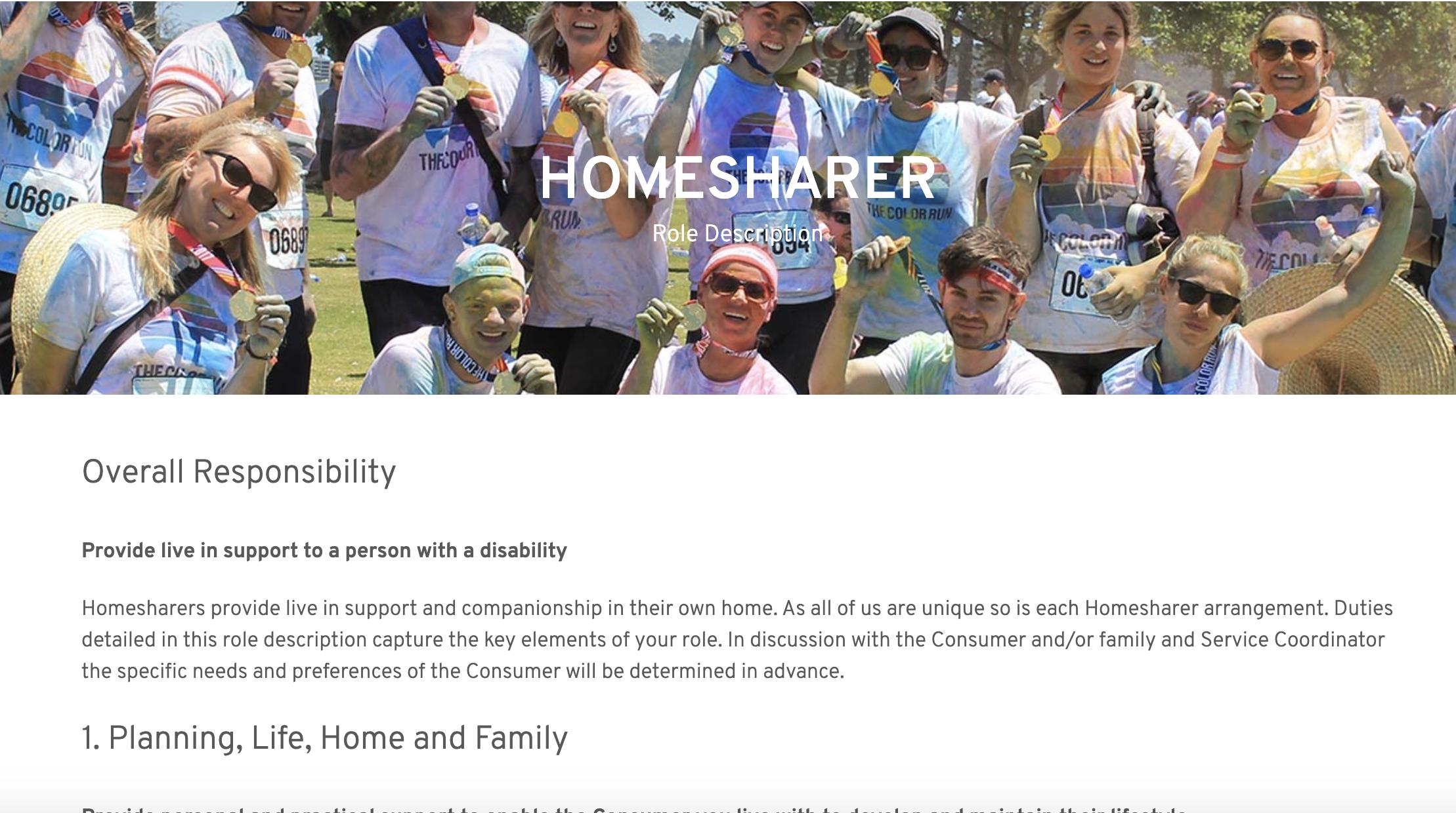Cover art for: Homesharer Role