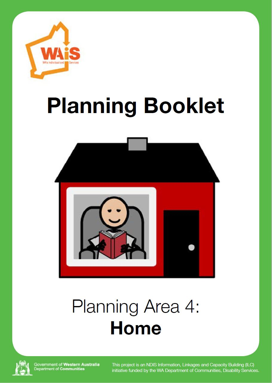 Cover art for: Planning Booklet HOME