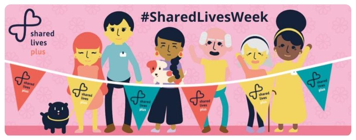 Cover art for: Shared Lives Week 14-21 June 2021