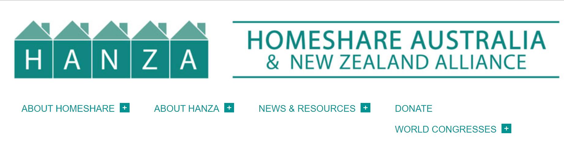Cover art for: Homeshare Australia & New Zealand Alliance- HANZA