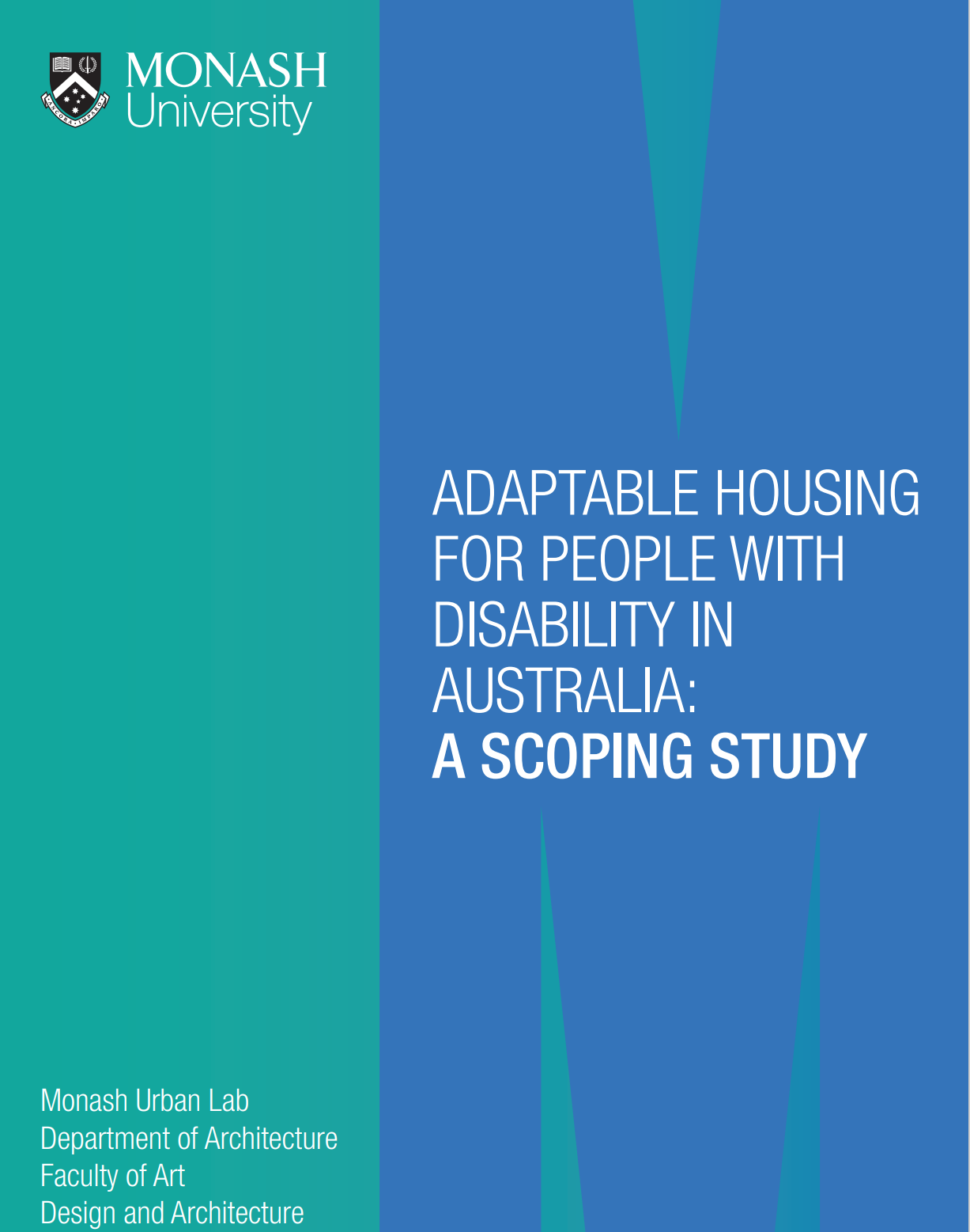 Cover art for: Adaptable Housing for People with Disability in Australia: A Scoping Study