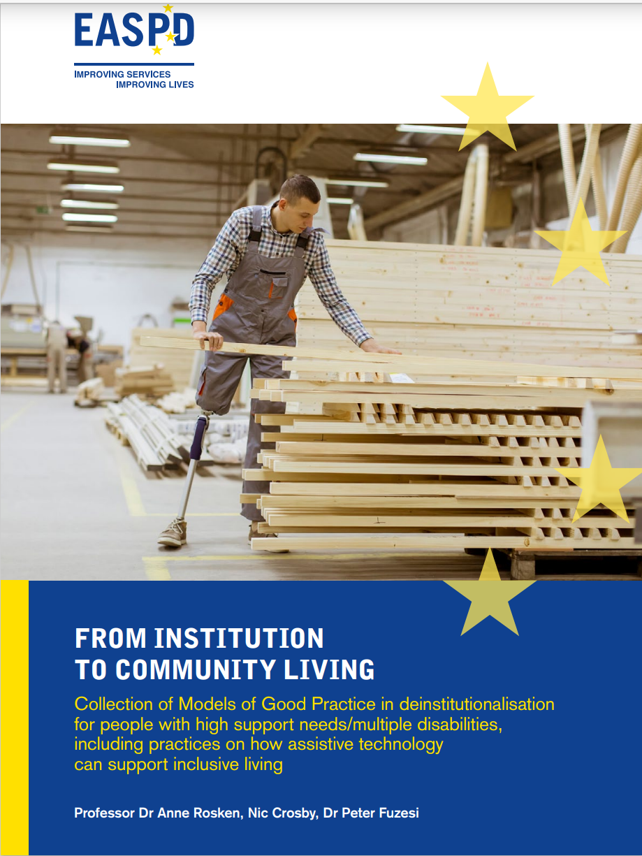 Cover art for: From Institution to Community Living