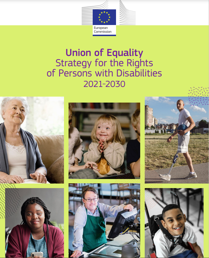 Cover art for: Union of Equality: Strategy for the Rights of Persons with Disability 2021-2030