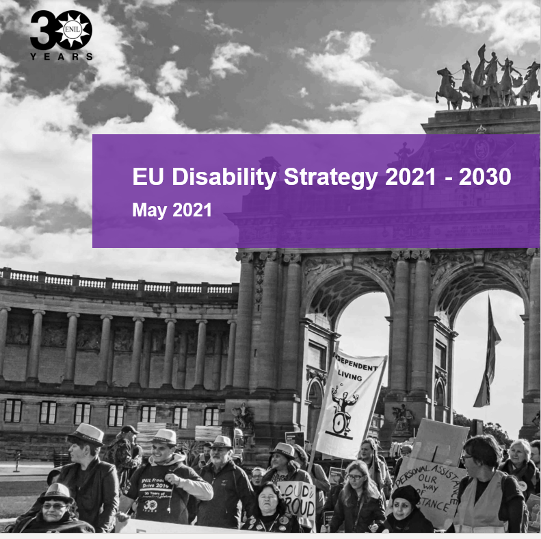 Cover art for: EU Disability Strategy 2021-2030