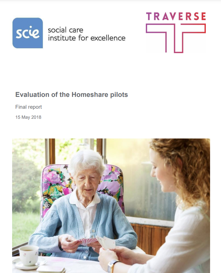 Cover art for: Evaluation Of Homeshare Pilots