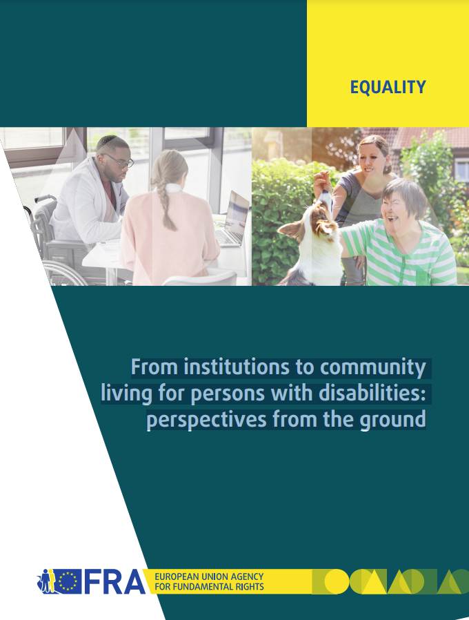 Cover art for: From Institutions to Community  Living for Persons with Disabilities:  Perspectives From the Ground